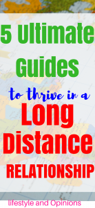 thrive in a long distance relationship ,